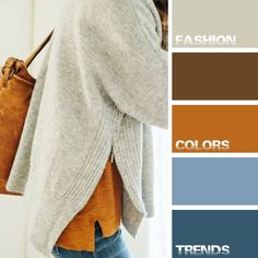 Fall Outfit #fashioncolorstrends  #fashion #colors #trends №25 Denim&Caramel. Street Style Fashion. Colors. Trends