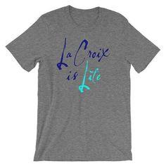 La Croix Shirt LaCroix Shirt La Croix Water La Croix Addict I Love La Croix More La Croix La Croix T Shirt La Croix TShirt La Croix by 25VintagePlace