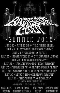 Brimstone Coven announces USA tour dates | Metal Blade Records