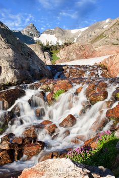 Along the Isabelle Glacier Trail, Indian Peaks Wilderness, Colorado