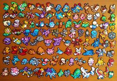 Pokémon hama mini beads by PumonePixelArt