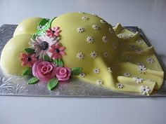 Cutest baby shower cake!!