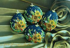 group of bridesmaids' pendants - custom bridal order | Flickr - Photo Sharing!