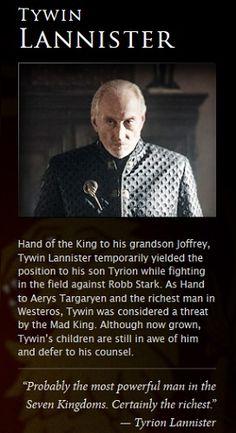 Tywin Lannister, #GoT