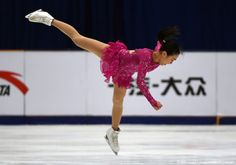 Mao Asada of Japan performs in the Ladies Short Program at the Cup of China ISU Grand Prix of Figure Skating in Beijing on November 6, 2015. AFP PHOTO / GREG BAKER (1463×1023)