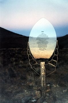 Poem facing West (From Quest, Journey into Sacred Space, Nieu Bethesda, ! Environmental Art, Heartland, Poem, Journey, Vacation, Space, Garden, Display, Vacations