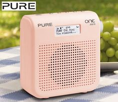 PURE One Mini DAB/FM Radio - Pink!