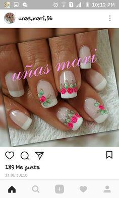 Nails, Beauty, Finger Nails, Pedicures, Hair Beauty, Nail Designs, Nail Manicure, Ongles, Nail