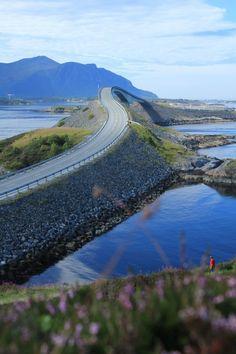 Noorwegen, zuid- en westkust