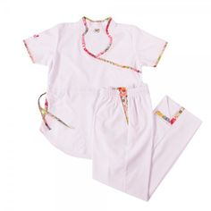 Jazmín poly blanco laurina - Oh Wear Scrubs, Rompers, Womens Fashion, Nursing, How To Wear, Sewing, Dresses, Accessories, Babydoll Sheep