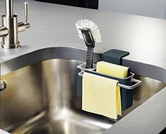 Joseph Joseph Sink Aid Self-Draining Sink Caddy, Grey: Amazon.ca: Home & Kitchen