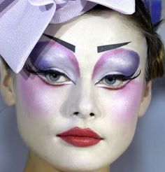 Inspiration for Harlequin Plate Series » Makeup by Pat McGrath for Dior Haute Couture S/S 07