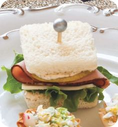 Ham, Havarti & Pear Tea Sandwiches Nov.-Dec. 2016 TeaTime Magazine