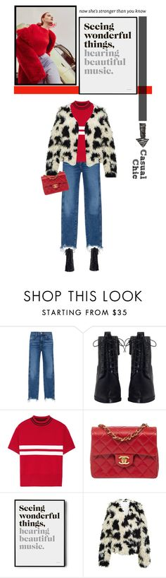 """""""Untitled #455"""" by ino-6283 ❤ liked on Polyvore featuring 3x1, Zimmermann, Tim Coppens, Chanel and TIBI"""