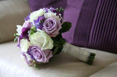 Google Image Result for http://www.wedding-reception-decoration-ideas.com/image-files/purple-white-rose-bouquet.jpg