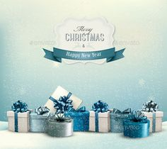 Holiday Christmas Background — JPG Image #gift #colorful • Available here → https://graphicriver.net/item/holiday-christmas-background-/9706850?ref=pxcr