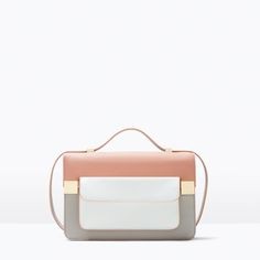 COLOR BLOCK MESSENGER BAG-Bags-Woman-SHOES & BAGS | ZARA United States