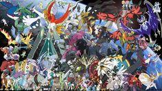 Pokemon Legendary Bundle All 72 Shiny 6IV Pokemon Sun and Moon Battle Ready