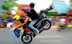 Overloaded cars, trucks, motorcycles or anything else in Thailand. http://www.islandinfokohsamui.com/