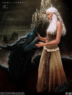 CG GAllery - Game of Thrones Dragons by ilkeryuksel