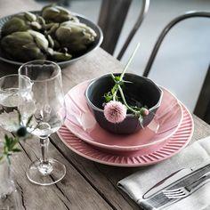 STRIMMIG Deep plate/bowl, stoneware blue - IKEA Dinner Sets, Dinner Table, Dinner Napkins, Dinner Plates, Serving Plates, Serving Dishes, Earthenware, Stoneware, Table Color