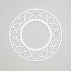 "To use as a base for the new chandelier! Jasmine 23"" Round O'verlays Frame"