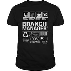 Branch Manager Multi Tasking T Shirt, Hoodie Branch Manager