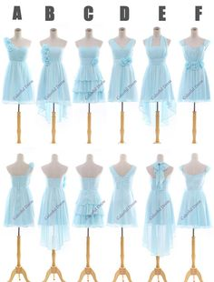 New Arrive Six Style Aline Modest Bridesmaid by ColorDress on Etsy