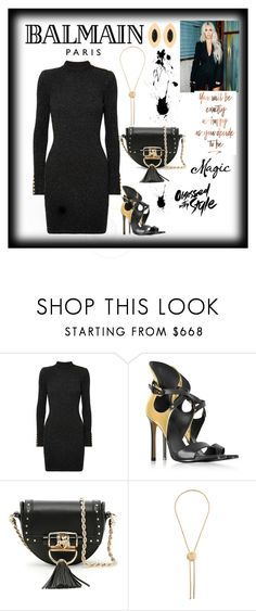 """""""Balmain Baby❤️"""" by dimeond711 ❤ liked on Polyvore featuring Balmain"""