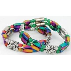 Pretty magnetic bracelets
