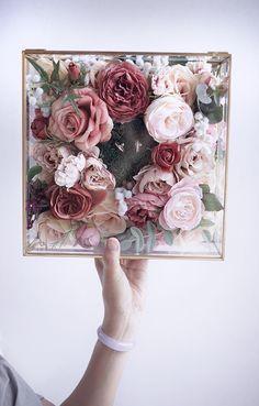 Wedding Ring Box, Wedding Boxes, Diy Wedding, Wedding Gifts, Wedding Flowers, Flower Box Gift, Flower Boxes, Geometric Box, Wedding Gift Wrapping