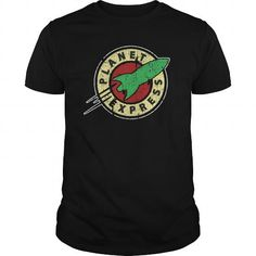 PLANET EXPRESS T Shirts, Hoodies. Check price ==► https://www.sunfrog.com/TV-Shows/PLANET-EXPRESS-Black-Guys.html?41382