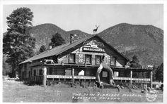 The Dean Eldredge Museum Flagstaff, Arizona Date: 1932           AKA The Museum Club