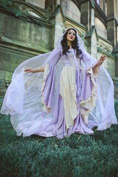 6f09d8062855 Items similar to Lady Gwen Lace Up Fantasy Medieval Velvet and Lace Gown Custom  on Etsy