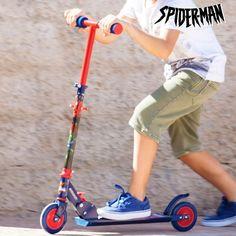 Spiderman Scooter (2 wheels)
