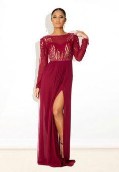 1198bc80ab3 Virgos Lounge Pink Gold Jasmine Long Embellished Drape Party Maxi Dress 12  40  VirgosLounge