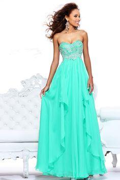 Sheath/Column Chiffon Sweetheart Empire Floor-Length Zipper Sleeveless Beading Draping Ruffles Prom Dress