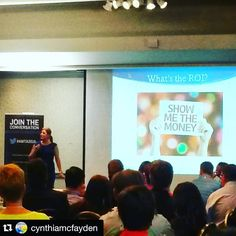 Thank you for capturing a moment of my social media keynote to the AMTA today  @cynthiamcfayden!  I was so focused on the talk I didn't get much out on social yet.  Happy to share my knowledge and inspire more Business owners to use social media to grow their community influence and profits. Everyone danced in when I came in to the song Levels By Nic Jonas!  What fun!! Let's do it again soon!  #amta2016 #smm #marketingrx #socialmedia #girlboss #keynotespeaker #socialmediaconsultant…