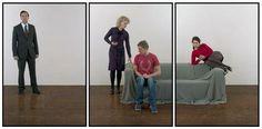 JOACHIM FROESE >   A Walking Shadow (Hamlet Fragment 3), 2009/2011, 3 inkjet prints, 40 x 90 cm