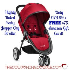 HOT! The Baby Jogger City Stroller is only $179.99 right now + you will get a FREE $75 Amazon Gift Card with your purchase!! What a great gift idea!  Click the link below to get all of the details ► http://www.thecouponingcouple.com/baby-jogger-city-stroller-179-99-free-75-amazon-gift-card/  #Coupons #Couponing #CouponCommunity  Visit us at http://www.thecouponingcouple.com for more great posts!