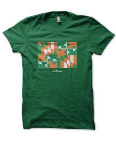 Irish Maryland Flag / Shirt #Shirts-:-All #Shirts-:-Unisex