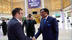 Pastor Chris & Oren Hazan, Member Of Knesset