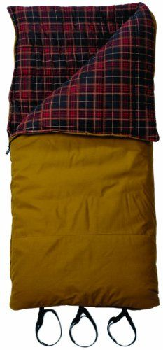 Slumberjack Big Timber 20 Degree Synthetic Sleeping Bag: Sports & Outdoors