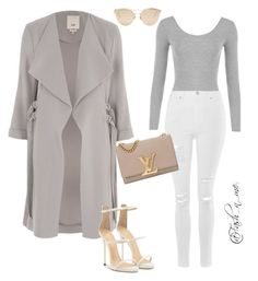 """""""So GiGi"""" by fashnme on Polyvore featuring WearAll, Topshop, River Island, Giuseppe Zanotti, Christian Dior and Louis Vuitton"""