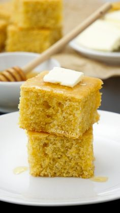 This gluten-free cornbread is sweet, soft, and can also be made as muffins! With a dairy-free and vegan option. Includes a how-to recipe video.