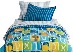 For Isaac on amazon~~~Jump Kids World twin comforter set- Alpha Boy. Beco Industries Ltd.,http://www.amazon.com/dp/B00888RQX0/ref=cm_sw_r_pi_dp_LVzzsb1N4HJKP998