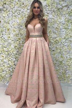 Elegant A-Line Sweetheart Beading Sleeveless Floor-Length Prom Prom Dresses For Sale, Prom Dresses With Sleeves, A Line Prom Dresses, Prom Dresses Online, Trendy Dresses, Bridesmaid Dresses, Dress Sale, Wedding Dresses, Vestidos Color Vino
