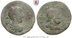 RITTER Kilikien, Anazarbos, Commodus, Trihemiassarion, Zeus Olybrios #coins