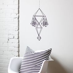 Himmeli no. 11 / Modern Hanging Mobile / Geometric by HRUSKAA by miss.ing