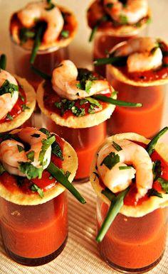 One-Bite Shrimp Cocktail